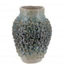 Keramik Vase Tocoa, D17cm, H24cm, grün